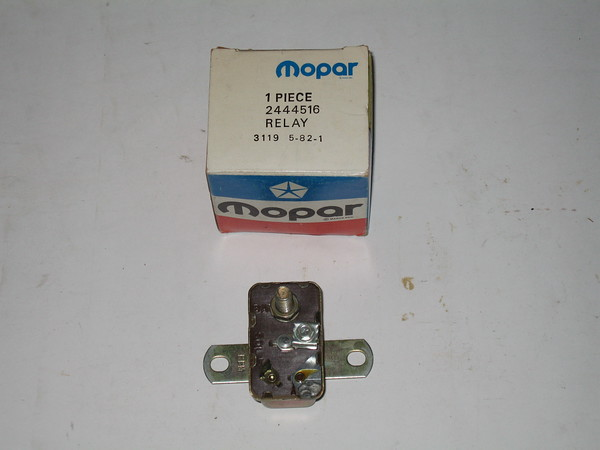 1962 thru 1972 Dodge Plymouth NOS starter relay # 2444516 (zd 2444516)