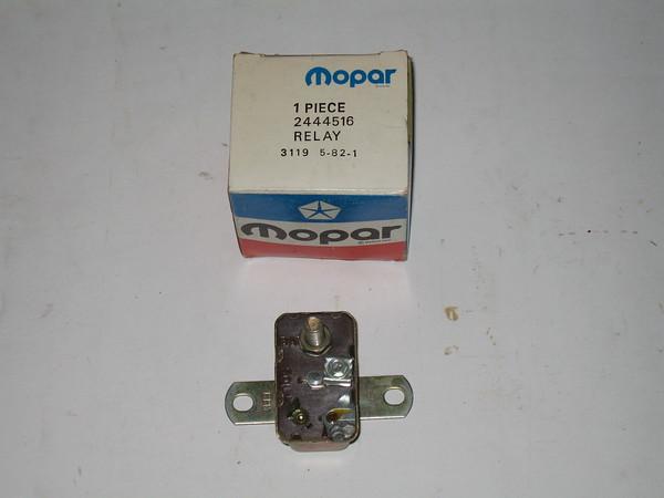 1962 thru 1972 Dodge Plymouth NOS starter relay # 2444516 (zd 2444516)
