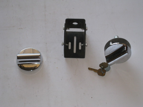 1960's 1970's 1980's New universal hood lock set # uhl60