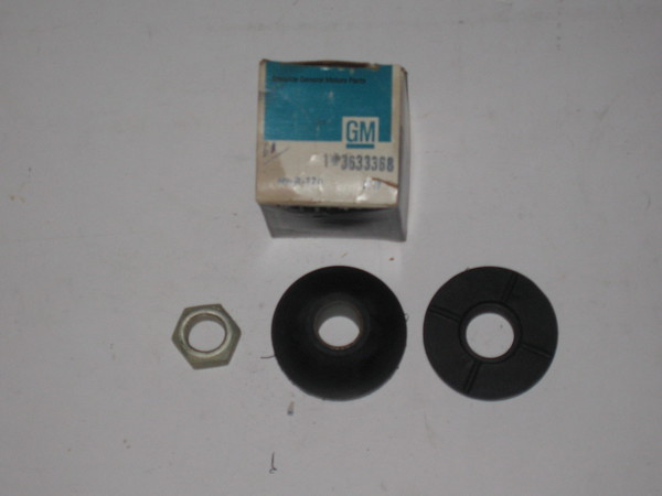 1961 1962 1963 1964 Cadillac NOS front suspension arm bush kit # 3633368 (zd 3633368)