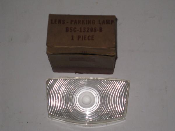 1955 1956 Ford truck NOS parklamp lens # b5c-13208-b