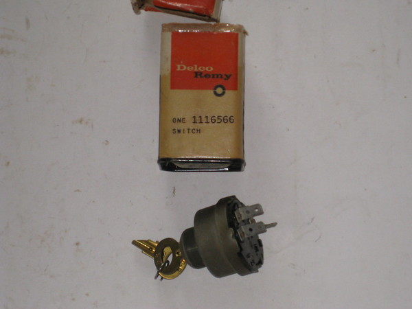 New Delco Remy universal starter switch # 1116566 GM Mopar Ford IHC marine tractor etc