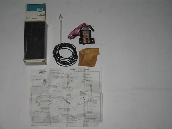 1971 1972 1973 1974 Chevrolet Vega NOS coolant lever sensor kit # 364002 (zd 364002)
