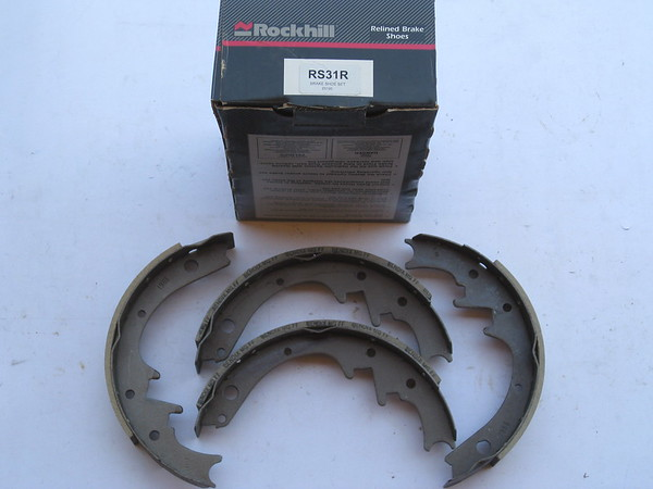 View Product1955 thru 1964 Rambler Nash Hudson new rebuilt rear brake shoe set # rs31r (zd rs31r)