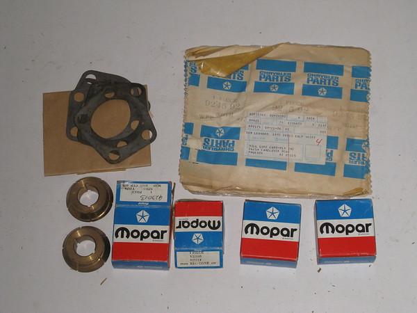 1960 thru 1970 Dodge truck NOS front axle parts lot # 92793l