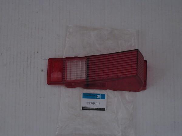 1968 Chevelle 300 deluxe NOS RH  tail lamp lens # 5959994