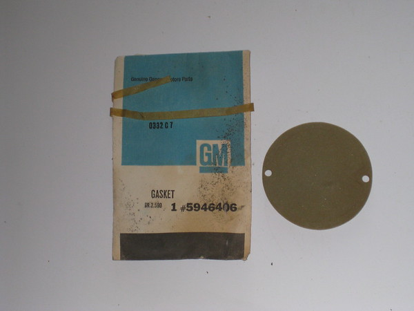 1958 thru 1969 Chevrolet pick up & van NOS parklamp lens gasket # 5946406