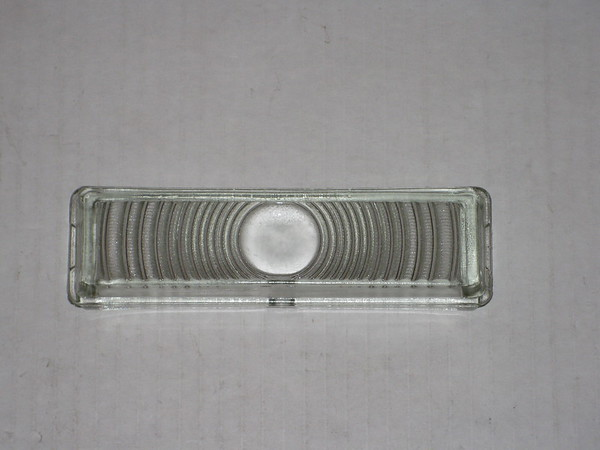 1947 1948 Chevrolet passenger car NOS park turn lamp lens # 9536809