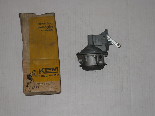 1958 59 60 61 62 63 64 65 66 Chevrolet & Corvette V8 remanufactured fuel pump # 4657