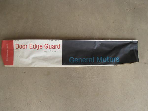 1973 74 75 1976 Chevrolet Monte Carlo NOS door edge guard set # 994497