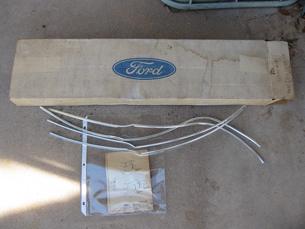 1971 thru 1979 Ford Maverick Mercury Comet 4 door NOS door edge guard set # d1dz-5420910-a