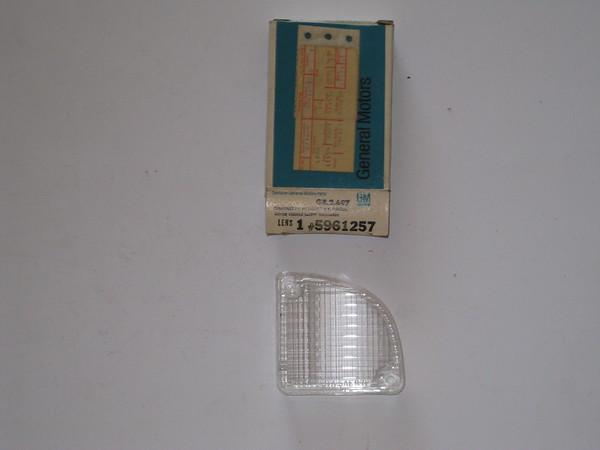 1967 68 69 70 71 1972 Chevrolet GMC pick up Blazer Jimmy LH back up reverse lamp lens # 5961257