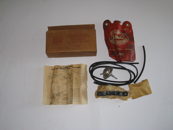 1954 Ford passenger car NOS windshield washer accessory kit # bm-18293-a