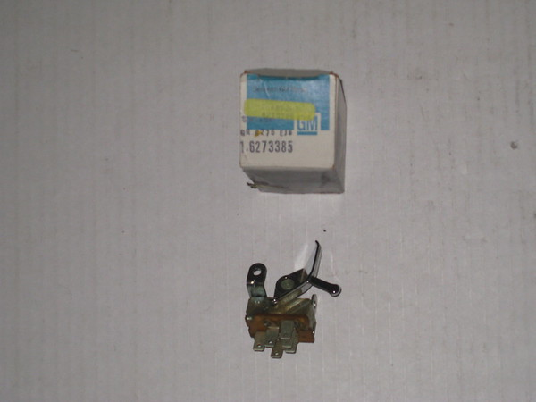 1969 1970 1971 1972 1973 1974 1975 Chevrolet Camaro Nova NOS A/C fan blower motor switch # 6273385