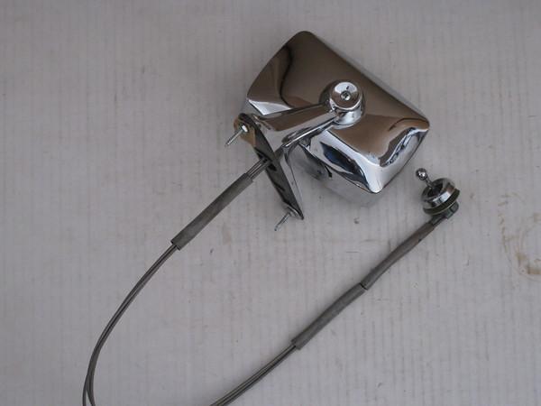 1967 1968 1969 Ford Galaxie LTD used remote control door mirror # c9ab-17743-a