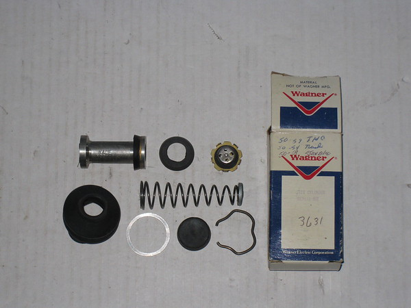 1935 thru 1965 Studebaker Packard Nash IH new brake master cylinder kit # fc3631