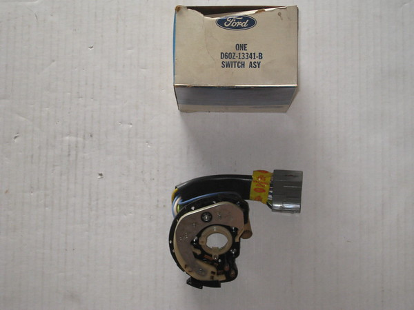 1973 74 75 76 77 78 79 Ford Mercury NOS turn signal switch # d6oz-13341-b