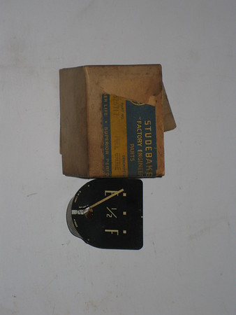 1949 1950 Studebaker NOS fuel gas gauge # 526717
