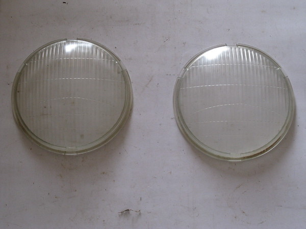1934 1935 Ford car new replacement glass headlamp lenses # 3435fhl (zd 3435fhl)