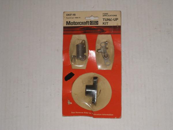 1966 thru 1973 Ford Mercury NOS tune up kit 6 cylinder # dkf-16