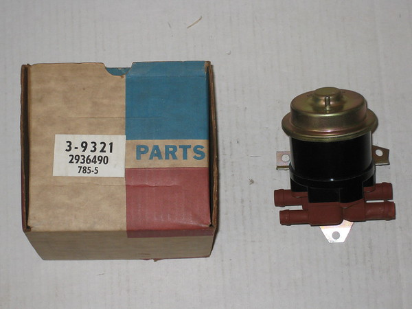 1969 1970 1971 Chrysler Dodge Plymouth B & C body new replacement heater valve # 2936490r