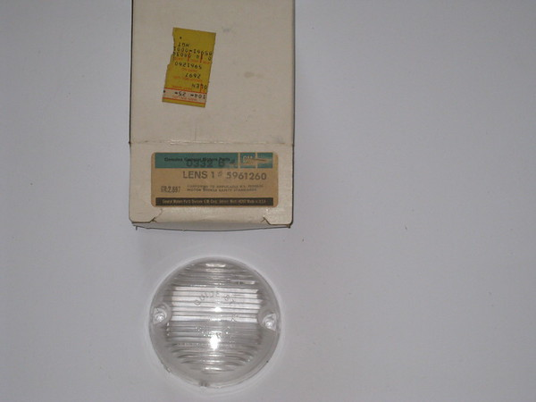 1966 67 68 69 79 71 1972 Chevrolet pick up NOS back up lamp lens # 5961260