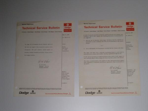 1969 Dodge original service bulletins 65 different pieces #69dsb (zd 69dsb)
