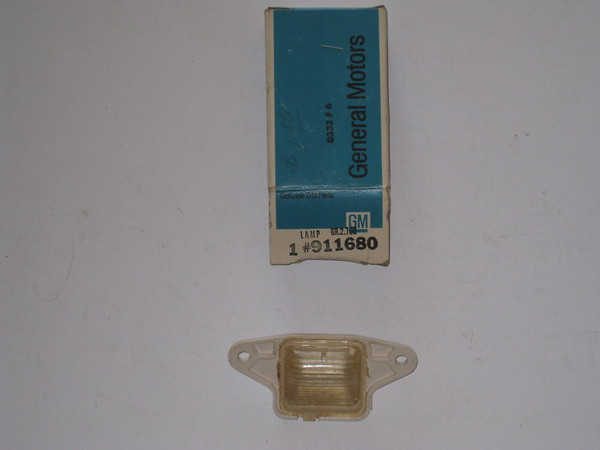 1973 1974 1975 1976 Buick Lesabre Century NOS license lamp # 911680