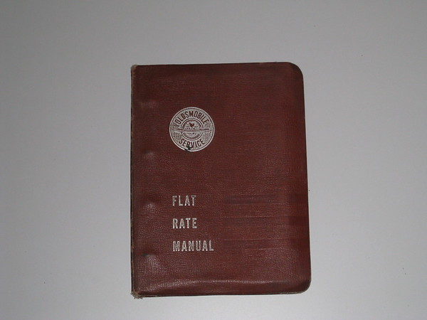 1952 1953 1954 1955 Oldsmobile original used flat rate manual #5255frm (zd 5255frm)