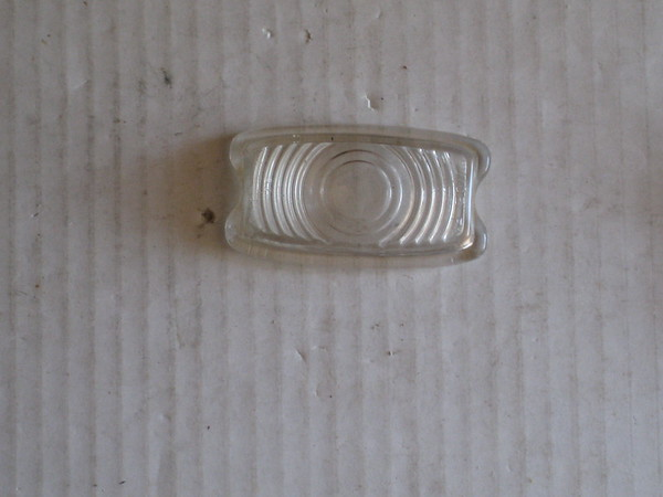 1941 Chevrolet Fleetline NOS front park turn lamp lens # 5931548