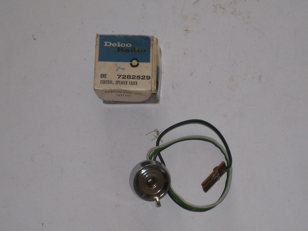 1963 1964 Chevrolet Corvair NOS speaker fader control # 7282529