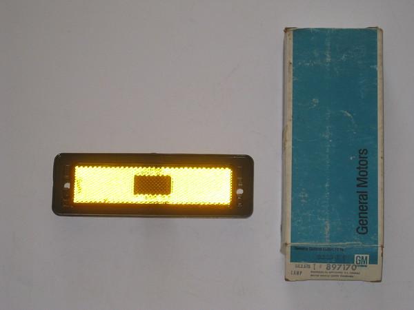 1970 1971 1972 1973 1974 Chevrolet Nova NOS front side marker lamp # 897170