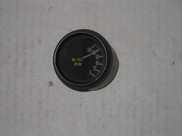 1974 75 76 77 78 Lamborghini Countach LP400 stewart warner used oil pressure gauge # 6010901u