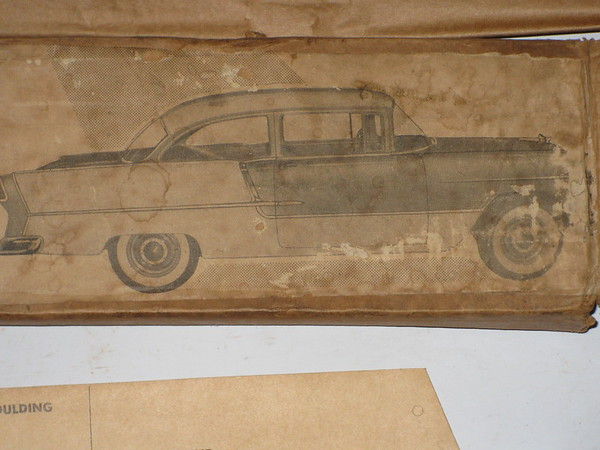 1955 Chevrolet 210 Bdl Air 2 door NEW additional body side trim kit # cct-5