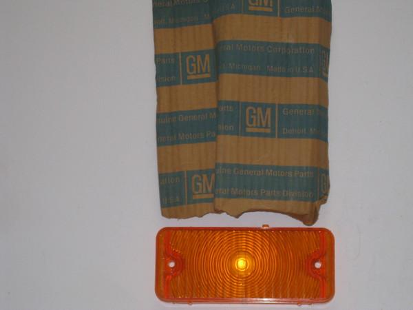 1967 1968 Chevrolet pick up park turn lamp lens # 5959145