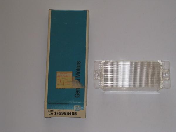 1977 1978 Chevrolet Caprice NOS front turn park lamp lens # 5968465