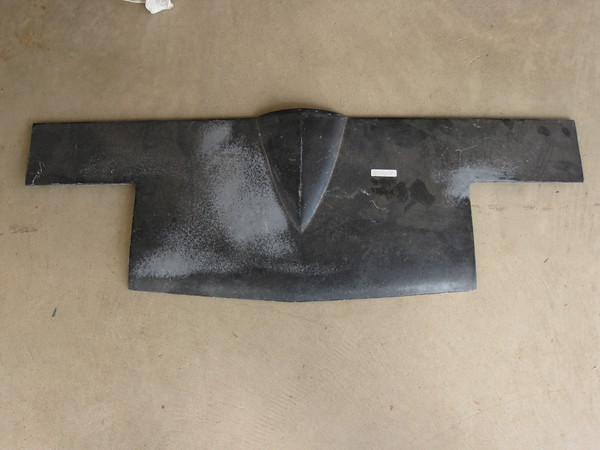 1963 1964 1965 1966 1967 Chevrolet Corvette NOS front center nose panel # 3904969