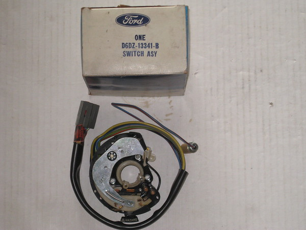 1973 1974 1975 1976 1977 Ford Maverick Mercury Comet NOS turn signal switch # d6dz-13341-b