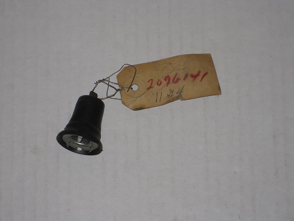 1937 thru 1965 Chrysler Desoto Dodge Plymouth NOS clock license instrument light socket # 2096141