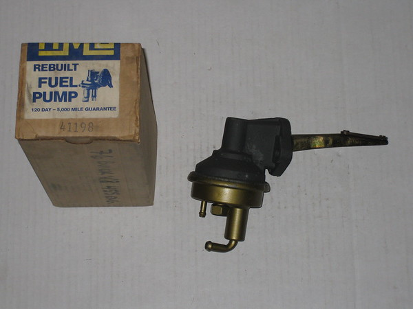 1975 1976 Buick 455 new rebuilt fuel pump # 41198