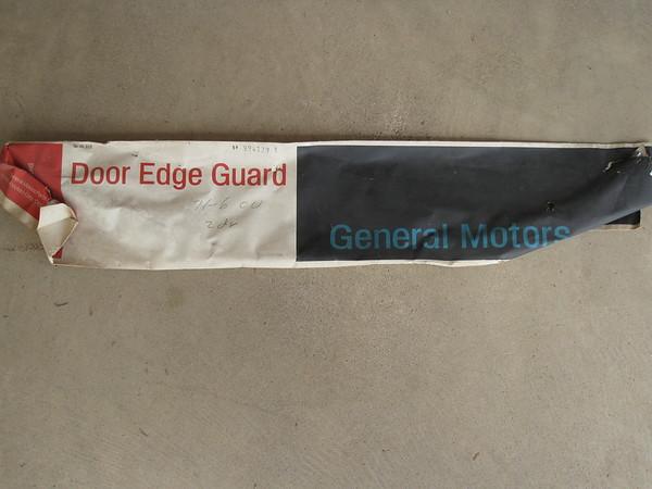 1971 72 73 74 75 1976 Chevrolet full size 2 door models NOS door edge guard set # 994139