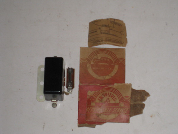 1920's thru 1960's New universal 6 or 12 volt headlight relay HLR100 (zd HLR100)