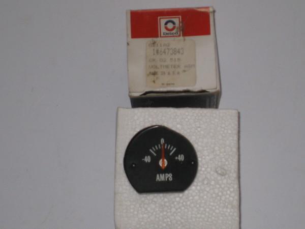 1970 1971 1972 Chevelle NOS ammeter amp gauge # 6473843