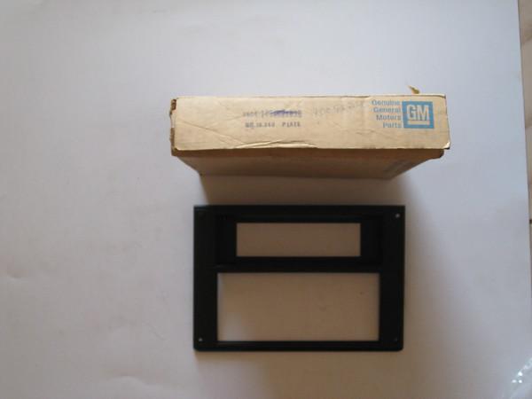 1982 83 84 85 86 87 88 89 90 91 1992 Chevrolet Camaro NOS front floor console plate # 1005246