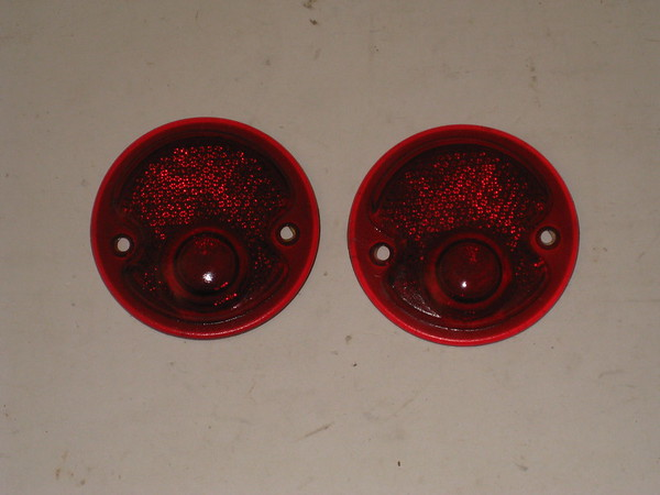 1948 49 1950 51 52 1953 Dodge truck NOS glass tail lamp lenses # 1195677 (zd 1195677)