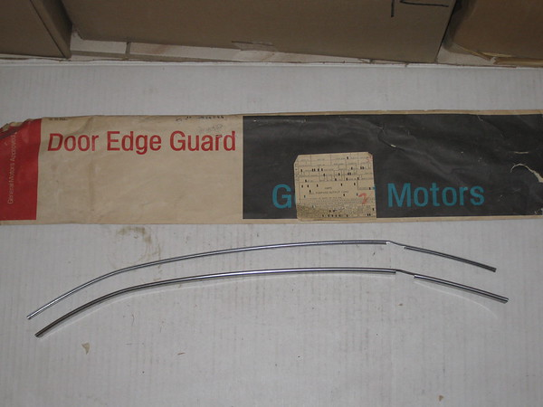 1976 1977 1978 Chevette NOS door edge guard set # 994844