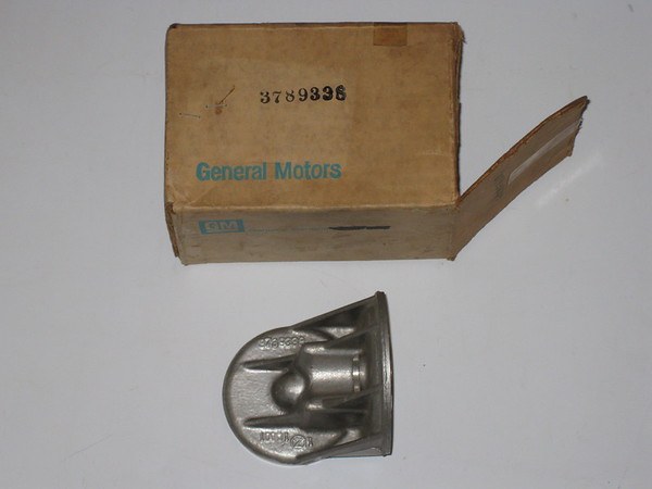 1960 61 63 65 67 68 1969 Chevrolet Corvair NOS oil filter mount # 3789338