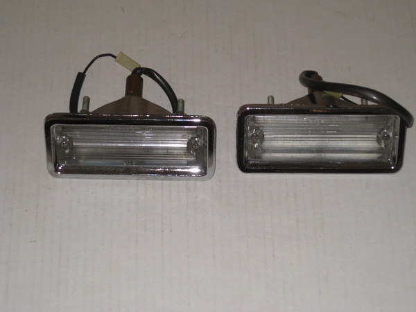 1963 Oldsmobile rechromed back up lamp assemblies # 910454r