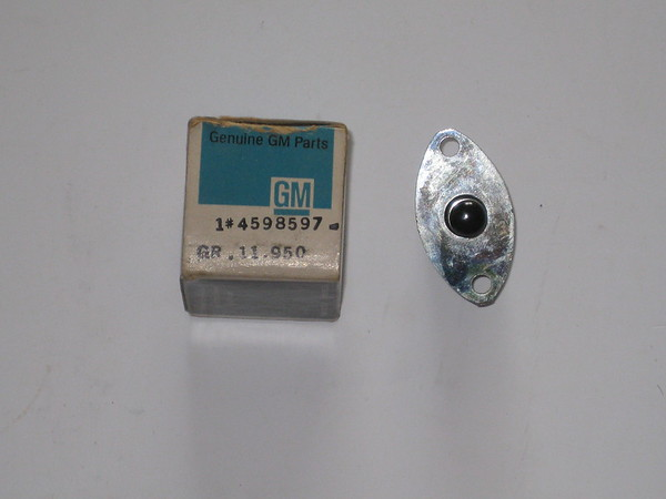 1941 thru 1958 Cadillac Chevrolet Oldsmobile Packard Studebaker NOS courtesy light switch # 4598597