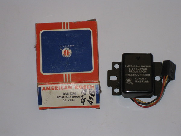 1972 1973 1974 1975 Jeep NOS voltage regulator # rab12a6